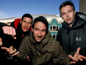 The Beastie Boys are photographed at the 2006 Sundance film festival in Park City
